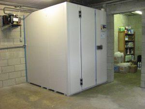 Chambre froide négative : stocker, conserver